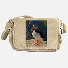 Atlantic Puffin Standing Messenger Bag