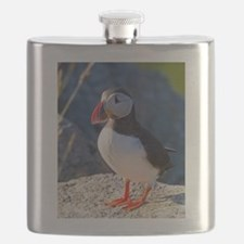 Atlantic Puffin Standing Flask