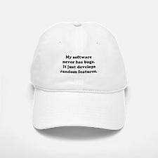 My Software has no Bugs Baseball Baseball Cap