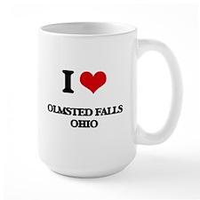 I love Olmsted Falls Ohio Mugs