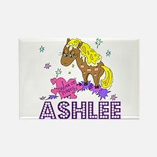 I Dream Of Ponies Ashlee Rectangle Magnet