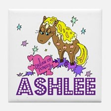 I Dream Of Ponies Ashlee Tile Coaster