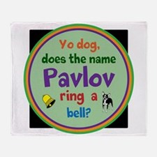 Pavlov Throw Blanket