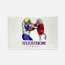 """Testosterone Power"" Rectangle Magnet"