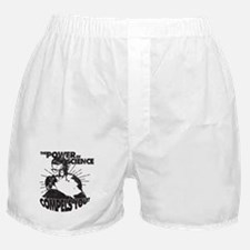 The Power Science Compels You! - Gray Boxer Shorts