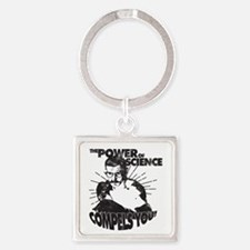 The Power Science Compels You! - Gray Keychains