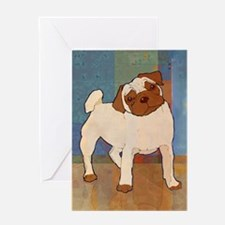 Pug Moment Greeting Card