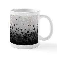 B&W Snowflakes Mug