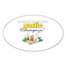 Cute Garlic Decal