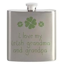 I Love My Irish Flask