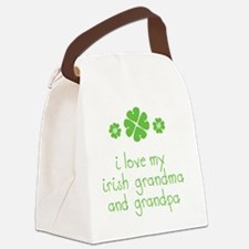 I Love My Irish Canvas Lunch Bag