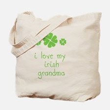 I Love My Irish Tote Bag