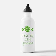 I Love My Irish Water Bottle