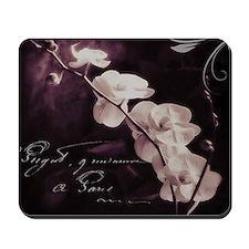 Purple orchid Mousepad