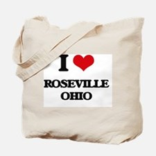 I love Roseville Ohio Tote Bag