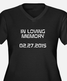 IN LOVING MEMORY Plus Size T-Shirt