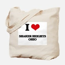 I love Shaker Heights Ohio Tote Bag