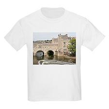 Pulteney Bridge, Avon River,Bath, England, T-Shirt
