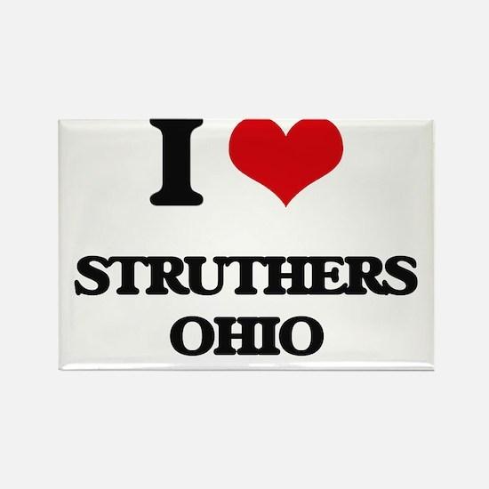I love Struthers Ohio Magnets