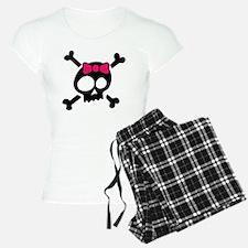 Whimsical Skull & Crossbone Pajamas