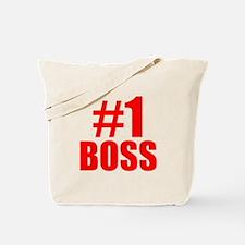 Number 1 Boss Tote Bag