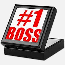 Number 1 Boss Keepsake Box