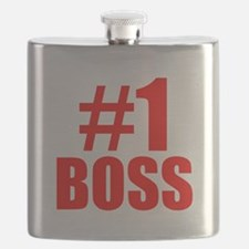 Number 1 Boss Flask