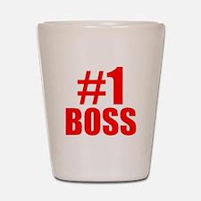 Number 1 Boss Shot Glass