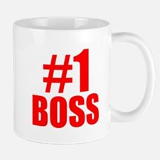 Number 1 Boss Mugs