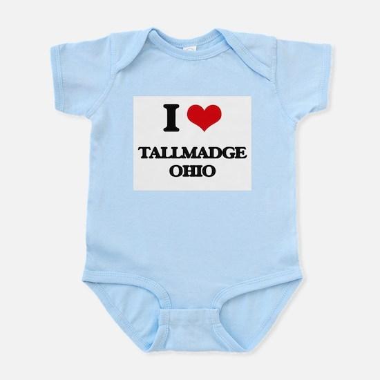 I love Tallmadge Ohio Body Suit