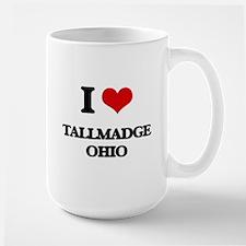I love Tallmadge Ohio Mugs