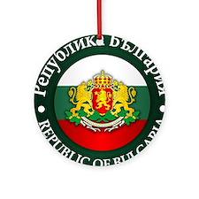 Bulgaria Ornament (Round)