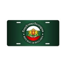 Bulgaria Aluminum License Plate