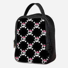 Whimsical Skull & Crossbones w/ Neoprene Lunch Bag