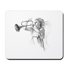 Mousepad Angel with Trumpet