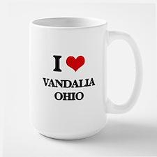 I love Vandalia Ohio Mugs