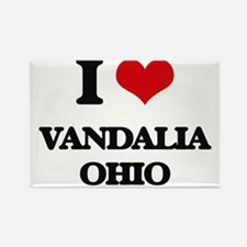 I love Vandalia Ohio Magnets