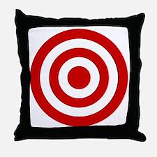 Bull's_Eye Throw Pillow