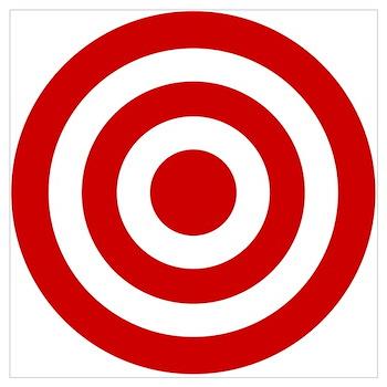 Bullseye Posters | Bullseye Prints & Poster Designs