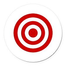 Bull's_Eye Round Car Magnet