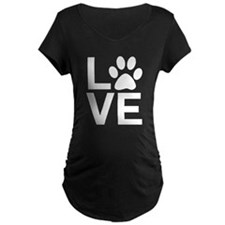 Love Dogs / Cats Pawprints T-Shirt