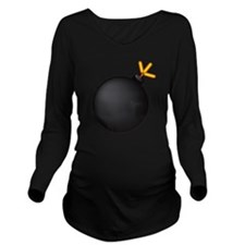 Bomb! Long Sleeve Maternity T-Shirt
