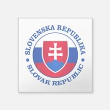 Slovakia (rd) Sticker