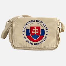 Slovakia (rd) Messenger Bag