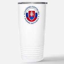 Slovakia (rd) Travel Mug