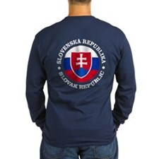Slovakia (rd) Long Sleeve T-Shirt