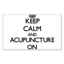 Keep Calm and Acupuncture ON Decal