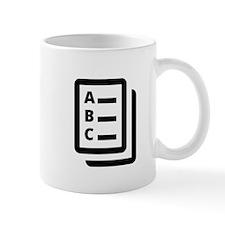 Multiple Choice Test Mug