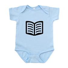 Open Book Infant Bodysuit