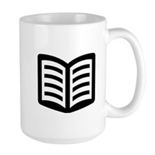 Open Book Mug